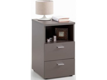 Nachttisch , 35x40x61,5 cm, grau »suva«, FMD