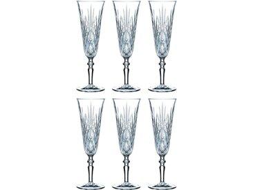 Sektglas, Material Kristallglas »Palais«, Guido Maria Kretschmer Home&Living, spülmaschinengeeignet
