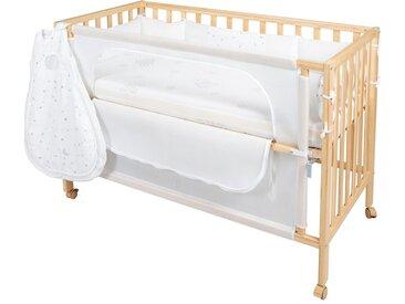 Babybett »Room Bed, safe asleep®, Sternenzauber natur«, beige, roba®»Room Bed, safe asleep®, Sternenzauber natur«
