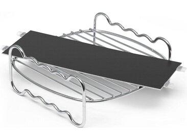 Philips Grillpfanneneinsatz »HD9950/00 Party Kit für Airfryer XXL«, schwarz, spülmaschinenfest, ,