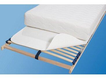 Matratzenschoner, weiß, Material Polyester »Noppenunterlage«, SETEX, strapazierfähig atmungsaktiv