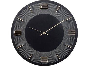 Wand-Uhr , schwarz »Leonardo«, KARE