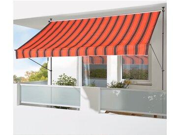 Klemmmarkise Breite/Ausfall: 250/150 cm, Breite 250 cm, KONIFERA, Material Stoff, Polyester, Einfache Montage