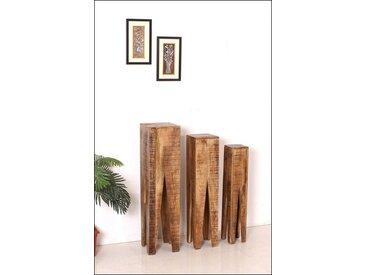Blumenhocker, 25x100x25 cm (BxHxT), 3er Set, Home affaire