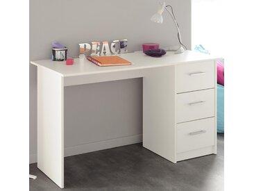Home Office Schreibtisch  »Infinity«, weiß, Parisot, mit Schubkästen
