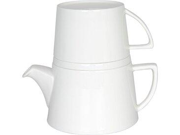 Teekanne »Tea for me«, weiß, Könitz, Unifarben, spülmaschinengeeignet