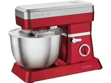 Küchenmaschine, rot, BOMANN