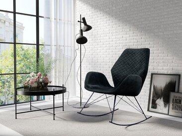 Schaukel-Stuhl, schwarz, Material Metall, Homexperts, strapazierfähig