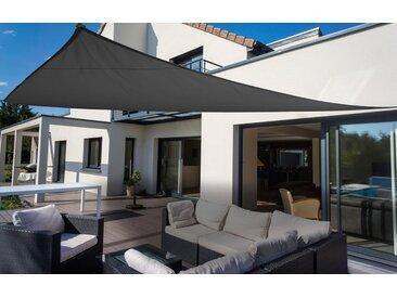 Sonnensegel »Dreieck«, Floracord, grau, Material Polyester, wasserabweisend