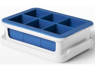Eiswürfelform, ergibt 6 Eiswürfel von je 4,5 cm, weiß, oxo kitchen
