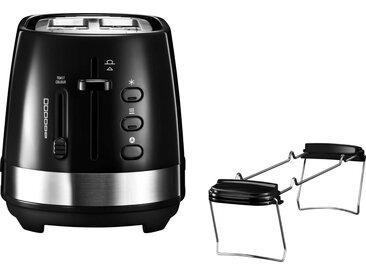 Toaster, schwarz, De'Longhi
