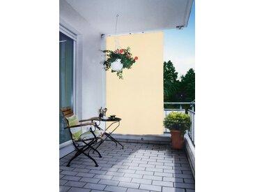 Senkrechtmarkise BxH: 140x230 cm, 140x140x230 cm (BxLxH), Floracord, beige, Material Polyacryl