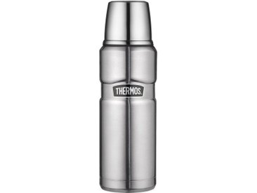 Isolierflasche, silber, Material Edelstahl »Stainless King«, THERMOS, spülmaschinengeeignet