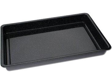 Backblech, 29 x 42 x 4 cm, schwarz »Emaille«, ChG