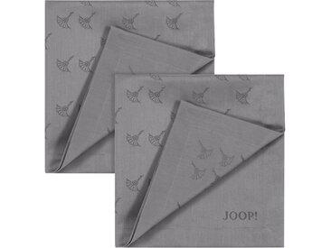 Joop! Stoffserviette »FADED CORNFLOWER«, (Set, 2 St), Aus Jacquard-Gewebe gerfertigt mit Kornblumen-Verlauf
