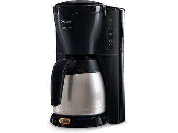 Philips Filterkaffeemaschine Gaia Therm Timer HD7549/20, 1,2l Kaffeekanne, Papierfilter 1x4, mit doppelwandiger Isolierkanne aus Edelstahl