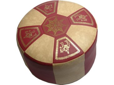 Home affaire Pouf, rot