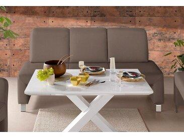 """Polsterbank, braun, taupe, zeitloses Design"""", , , FSC®-zertifiziert, exxpo - sofa fashion"""