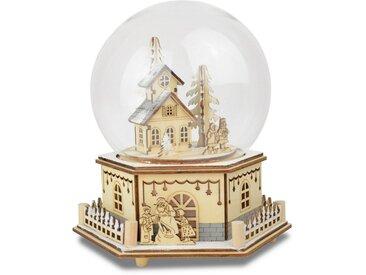 Spielzeuguhr  »Haus mit Kindern«, beige, Yourhome