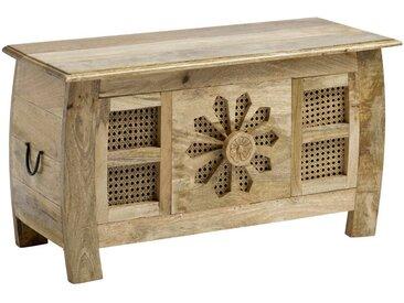 Sitztruhe, FSC®-zertifiziert, heine home, Material Massivholz, Holz