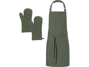 Kochschürze , grün, hochwertig, »Kit«, , , DDDDD