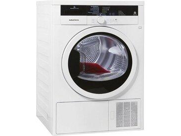 Wärmepumpentrockner GTA 38267 G, weiß, rund, Energieeffizienzklasse: A+++, Grundig