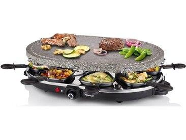 PRINCESS Raclette 162720, 8 Raclettepfännchen, 1200 W