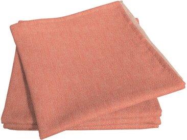 Stoffserviette, orange, Material Bio-Baumwolle »Uni Light Collection«, Adam