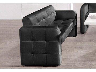 exxpo - sofa fashion 2-Sitzer, FSC®-zertifiziert, schwarz, strapazierfähig, frei stellbar