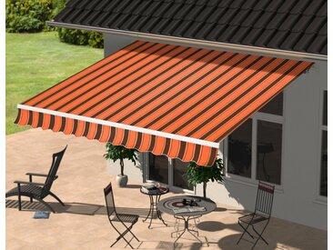 Gelenkarmmarkise Breite/Ausfall: 300/250 cm, Breite 300 cm, KONIFERA, orange, Material Polyester