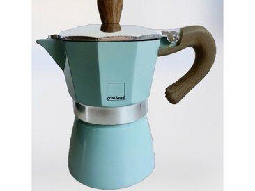 Espresso-Kocher Venezia, blau, Material Aluminium / Edelstahl, gnali & zani