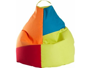 Sitz-Sack  »Harlekin XL«, grün, Material Polystyrol / Polyester, Sitting Point