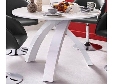 Esstisch, 110x75x110 cm (BxHxT), FSC®-zertifiziert, Yourhome, Material Holzwerkstoff,  rund