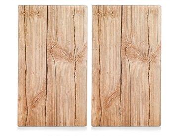 Abdeckplatte, beige »Wood«, Zeller Present