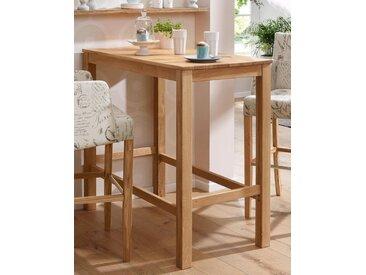 Home affaire  Stehtisch , Landhaus-Stil, FSC®-zertifiziert, braun, Material Massivholz »Ester«