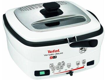 Tefal Fritteuse deLuxe FR4950, 1600 W, mit Pfannenwender, Fassungsvermögen 1,3 kg, Innenbehälter herausnehmbar und antihaftbeschichtet
