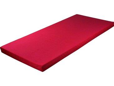 Breckle Jugendmatratze, 1x 90x190 cm, rosa, Material Komfortschaum, unter 14 cm hoch