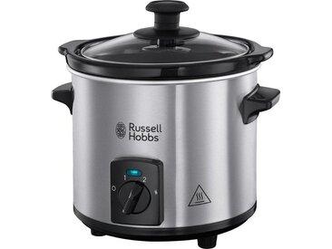 RUSSELL HOBBS Dampfgarer Compact Home Mini 25570-56, schwarz, spülmaschinengeeignet
