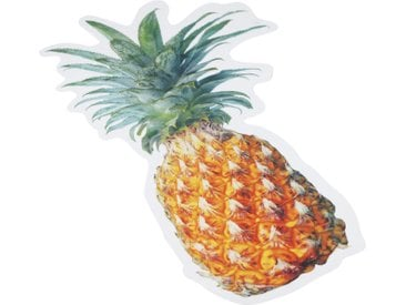 MySpotti Duscheinlage »Klebefliese stepon Happy Pineapple«, B: 50 cm, L: 30 cm, 1-tlg., antirutsch