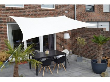 Sonnensegel, Floracord, weiß, Material HDPE, Polyethylen