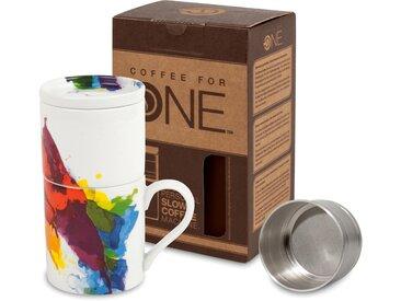 Könitz French Press One colour Flow, 0,33l Kaffeekanne, Coffee for one