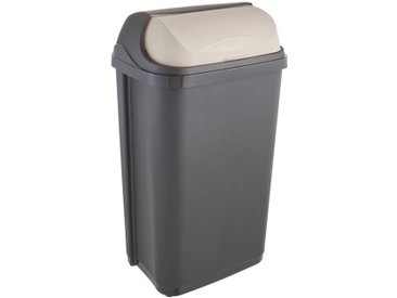 Papierkorb , grau, Material Kunststoff »rasmus«, keeeper
