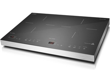 Doppel-Induktionskochplatte S-Line 3500, schwarz, Caso