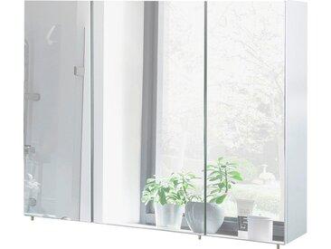 Schildmeyer Spiegelschrank, weiß, Material Glas »Basic«