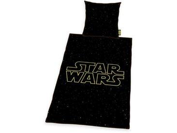Bettgarnitur , schwarz, 1x 155x220cm, »Star Wars«, Star Wars