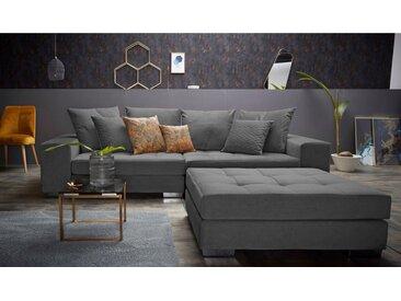 INOSIGN Big-Sofa »Vale«, mit Federkern, grau