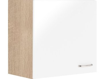 Hängeschrank »Parare«, 60x57.6x34.6 cm (BxHxT), OPTIFIT, weiß, Material Nickel, Holzwerkstoff, Metall, Melamin