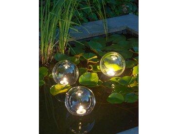 Teichleuchte »MultiBright Float 3 LED«, Höhe 24 cm, Ubbink, weiß