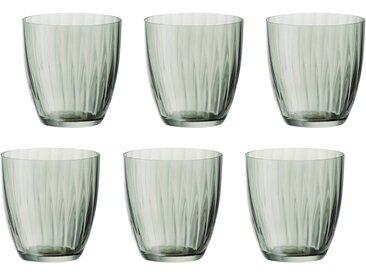 Gläser-Set  , Landhaus-Stil, grün, Material Glas »Georgia«, BOHEMIA SELECTION, unifarben