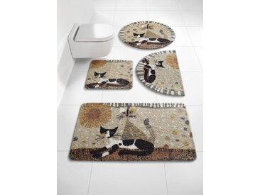 Badezimmer-Garnitur Rosina Wachtmeister Design, braun, Material Polyacryl, Salonloewe